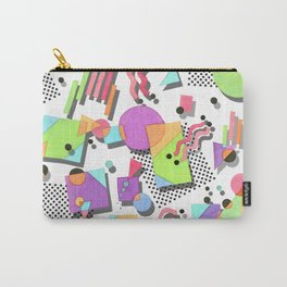 Rad 80s Memphis Carry-All Pouch