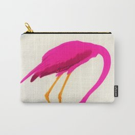 Vintage Carpano Pink Flamingo Motif Vermouth Advertisement Poster Carry-All Pouch