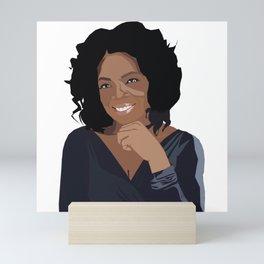 Oprah Mini Art Print