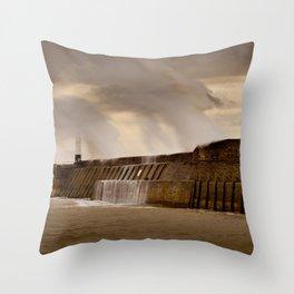 Storm Desmond Throw Pillow
