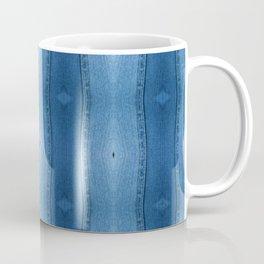 Denim Diamond Waves vertical patten Coffee Mug