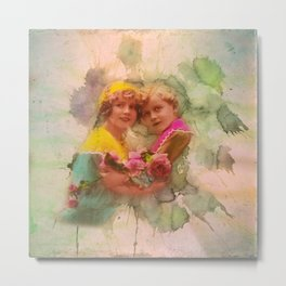 Vintage childhood of the last century Metal Print