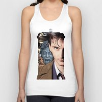 doctor who Tank Tops featuring Doctor Who by SB Art Productions