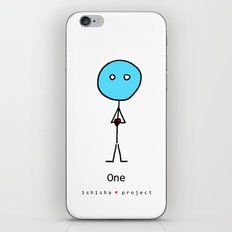 ONE  by ISHISHA PROJECT iPhone & iPod Skin