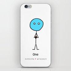 ONE  by ISHISHA PROJECT iPhone Skin