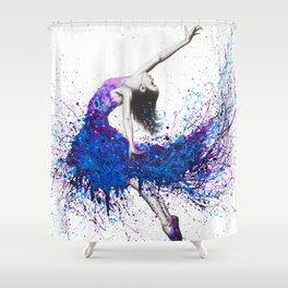 Evening Sky Dancer Shower Curtain