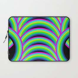 Neon Rainbow Laptop Sleeve
