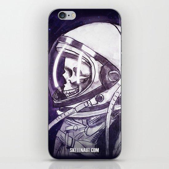 Skelenaut II iPhone & iPod Skin