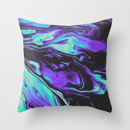 LAVENDER BLOOD Throw Pillow