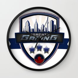 Toronto Gaming Wall Clock