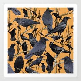 Crow | Corvidae Art Print