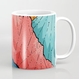 The crosshatch peaks Coffee Mug