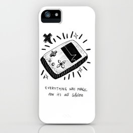 Technology Was Magic iPhone Case