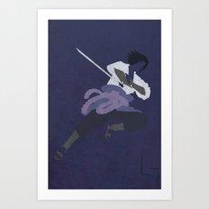 Sasuke Art Print