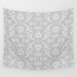Thistles on Grey Wall Tapestry