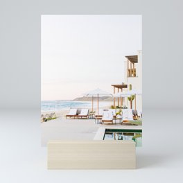 Sun-Kissed Vacations in Baja, Mexico Mini Art Print