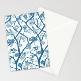 Peony Branch Chinoiserie Mural Stationery Cards