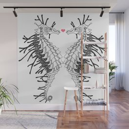 seahorse - Lovers Wall Mural