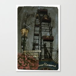 Vienna wheel Canvas Print