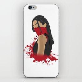 Elektra Natchios iPhone Skin