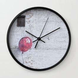 globe drawing wall Wall Clock