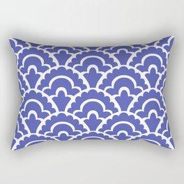 Fan Pattern Rectangular Pillow