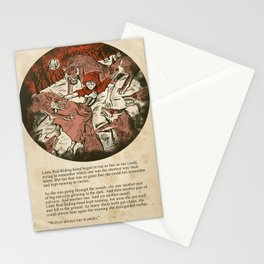 Little Red Riding Hood - Untold Ending Stationery Cards