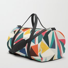 Collection of pointy summit Duffle Bag
