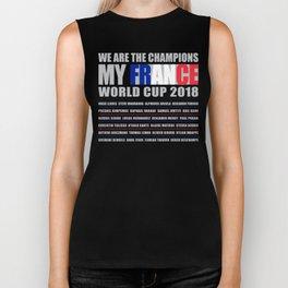 WORLD CUP 2018 FRANCE champion Biker Tank