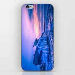 Frozen boat iPhone Skin