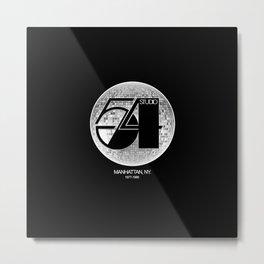 Studio 54 - Discoteque Metal Print