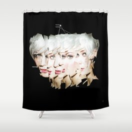 identity 4.3 · expand yourself Shower Curtain