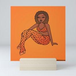 Spice Girl Pinup Mini Art Print