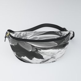 Shining silver in the sun Fanny Pack
