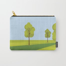 City Park Minimalistic Graphic Carry-All Pouch