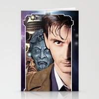 doctor who Stationery Cards featuring Doctor Who by SB Art Productions