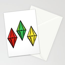 Plumbobs Stationery Cards