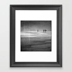Surfing South Africa Framed Art Print