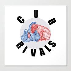 Cub Rivals Canvas Print
