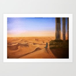 Lost in Time and Space Art Print