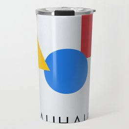 Bauhaus - Geometric Art Travel Mug