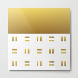 Modern geometric background gold #society6 #decor #buyart #artprint Metal Print