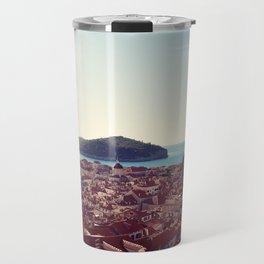 View over Dubrovnik Croatia Travel Mug