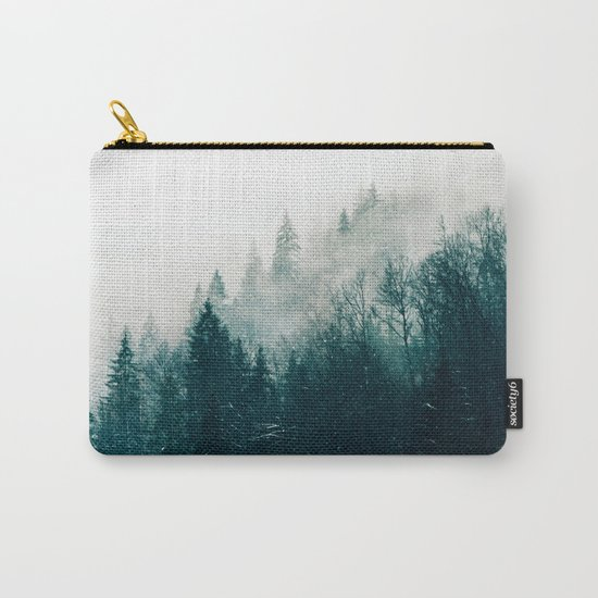The Silent Forest #society6 #decor #buyart Carry-All Pouch