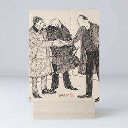 Alexander von Salzmann, Salve & Clueless 1905 Mini Art Print