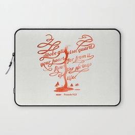 Your hear (monochrome version) Laptop Sleeve