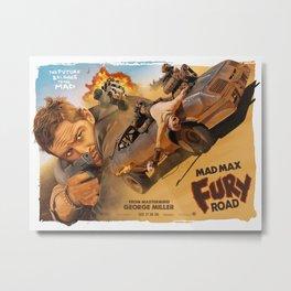Mad Max Movie Poster Metal Print