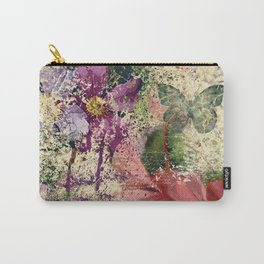 Garden shabby texture Carry-All Pouch
