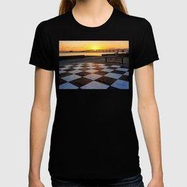 Checkerboard Sunset T-shirt