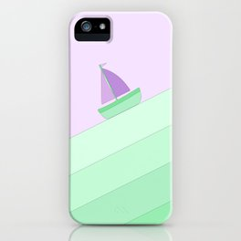 Boat on the Water #2 iPhone Case